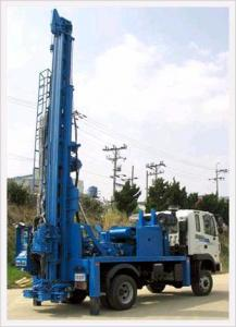 China 400 meters trailer mounted drilling rig BZT400 on sale