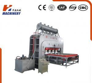 China Multifunctional Hydraulic Hot Press Machine For Singele Veneer Decoration Board on sale