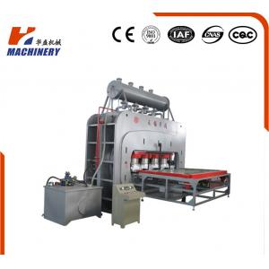 China Multifunctional Hydraulic Hot Press Machine For Singele Veneer Decoration Board on sale