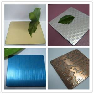 China Stainless Steel Decoration Plate on sale