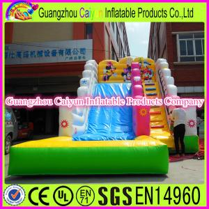 China Mickey Mouse Water Inflatable Slide on sale