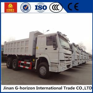 China 371hp Lhd Rhd Sinotruk Howo 6*4 Heavy Duty Dump Truck Tipper White Red on sale