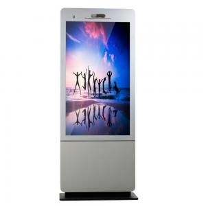 China Webcam Hotel 55 Inch Interactive Touch Screen Kiosk Remote Control Built - In Speaker on sale
