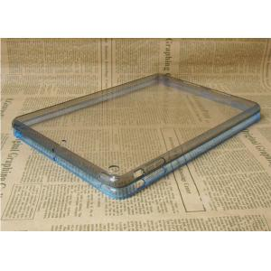 China 2 In 1 Apple iPad Protective Case Grey Clear TPU And Acrylic For Boy on sale