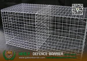 China Galfan Coated Welded Mesh Gabion | 2X1X1m | 50X50mm mesh opening on sale