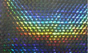 China Hologram Spangle Film With Glue on sale