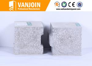 China Non Asbestos Sandwich Cement Composite Panels , High Strength EPS Wall Panels on sale