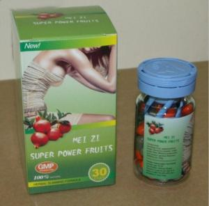 China 100 Natural Effective Slimming Pills MEI ZI Super Power Fruits OEM/ODM Available on sale