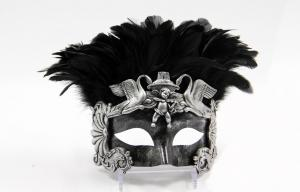 China Costume Feather Masquerade Mask on sale