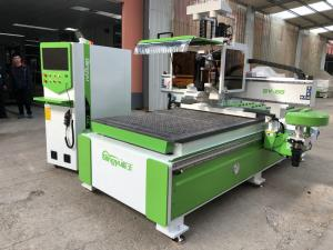 China Strong Anti Interference CNC Wood Cutting Machine For Wood And Metal Industry on sale