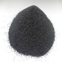 high strength refractory black corundum for polishing and blasting