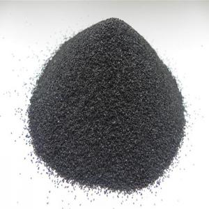 China high strength refractory black corundum for polishing and blasting on sale