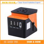 Type-C Travel Adapter with 4 USB Charger