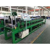 China 0.3 - 0.8mm Corrugated Fine Roofing Sheet Roll Forming Machine AC 7.5KW Motor on sale