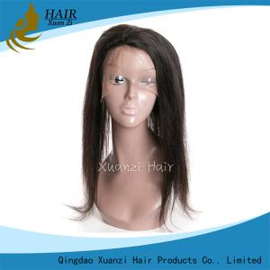 China Human Hair Clip In Extensions No Shedding , 100% Human Hair Black Women Wigs on sale