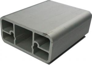 China Profils industriels d'alliage d'aluminium, cadre de porte en aluminium expulsé anodisé on sale