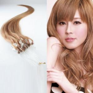 China hot sale top quality 60# wavy indian remy hair loop micro ring hair extension on sale