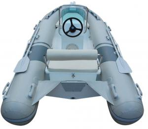 Small Size Inflatable Hard Bottom Boat Easy Carrying 300cm With