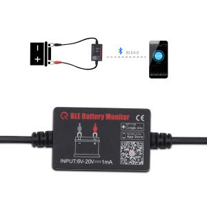China Bluetooth 4.0 Wireless Battery Tester VAG Diagnostic Tool for Android & IOS 12V Battery monitor on sale