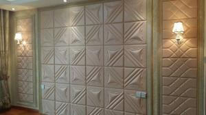 China leather carving backboard pvc foam board on sale