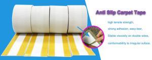 China Double Sided Anti Slip Carpet Tape Stable Viscosity Irregular Suface on sale