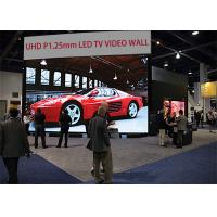 China P1.2mm indoor untra high definition advertising led display for high end market / UHD 4K 8K P1.2mm large led tv screen on sale