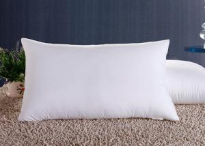 China Polyester Fiber Hotel Standard Comfort Pillows , Hotel Collection Decorative Down Pillows on sale
