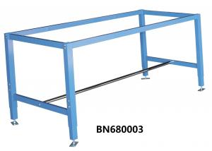 China Blue Color Industrial Work Benches 60 Overall Width Powder Coated on sale