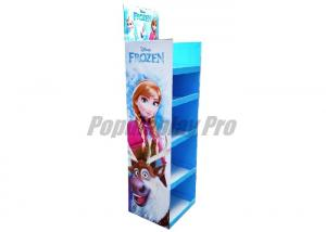 China Floor Standing Cardboard Retail Display Shelves Eye - Catching on sale