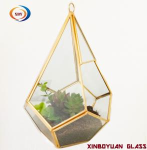 Wholesale Moq 20pcs Handmade Geometric Glass Plant Terrarium For