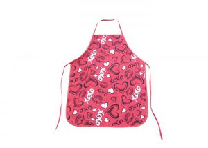 China Women Promotional Printed Aprons , Pure Cotton Cute Personalised Cooking Apron on sale