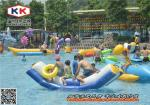 China Outdoor Inflatable Water Game Water Slide Obstacle Course Environmental wholesale