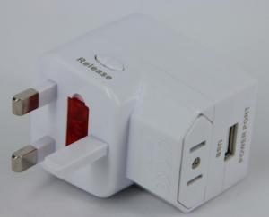 China 1000mA Business / Students USB Universal Travel Adaptor for Hotels, Bank ADP060 on sale