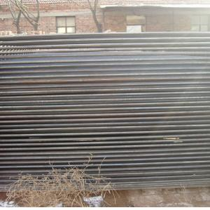 China Perforated Sheet Metal Fence Posts Galvanized Iron Tube Material 1400mm Height on sale