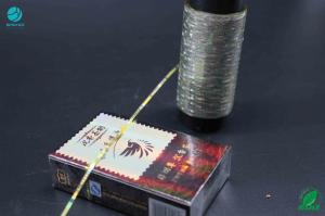 China 2-10mm Width Laser Counterfeiting PET / BOPP / MOPP Film Materials Tear Tape on sale