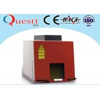 CE Jewellery Laser Marking Machine 20 Watt For Gold Silver , Sealed Working Table