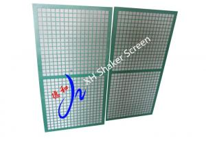 China Scomi Prima 3G 4G 5G Shaker Screen With 1175 * 610 mm For Drilling Mud Separator on sale