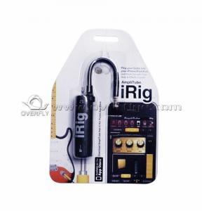 China Bass USB Guitar Cable IK Multimedia IRIG For IPhone4 / 4S Guitar Effects on sale