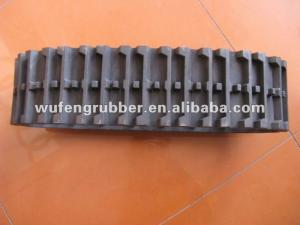 China Snow Blower Snow Thrower conveyor belt rubber track on sale