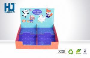 China Os desenhos animados imprimiram DVD/caixas de exposição do contador do cartão POP do CD para o centro comercial on sale