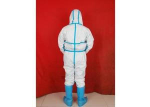 China Waterproof Disposable Isolation Gowns , Protective Clothing Disposable Single Use on sale