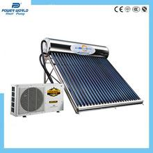 China Power World 3.6KW air source heat pump water heater with Solar heate on sale