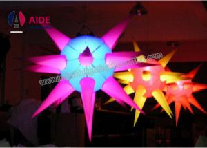China 3D Colorful Inflatable LED Light , Concert Light Up Inflatables Multi Angle on sale