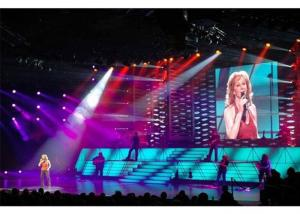 China Advertising HD Indoor Rental LED Display Full Color 1000 Nits 500*1000mm Cabinet on sale