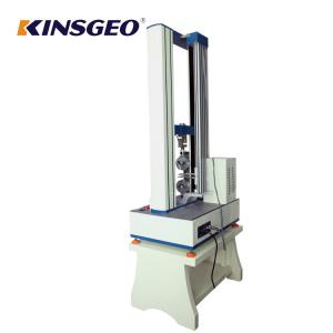 China 100T Plastic Rubber Peel Adhesion Test Equipment With 0.5 To 1000mm / Min on sale