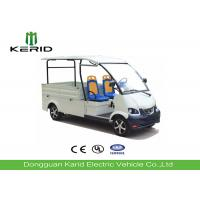Free Maintenance Battery Powered Electric Cargo Van , Electric Utility Truck With 2 Seats