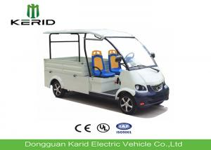 China Free Maintenance Battery Powered Electric Cargo Van , Electric Utility Truck With 2 Seats on sale
