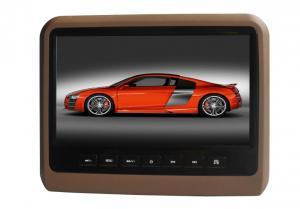 China CE FCC ROHS 9 Car Roof DVD Player Headrest With Interchangeable Color Skins   . on sale
