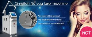 China 1064nm 532nm Electro-optical Q-switched ND YAG laser tattoo removal laser for sale on sale