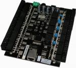 el sistema del control de acceso de 4 puertas con los datos TCP/IP o rs485 interconecta